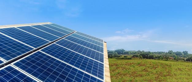Solar Panel Photovoltaic installation on a Roof, alternative ele